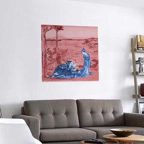 Porch & Den Katsushika Hokusai 'Japanese Courtesan' Removable Art Decal
