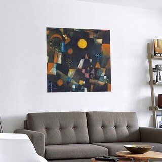 Link to Porch & Den Paul Klee 'Full Moon' Removable Art Decal Similar Items in Vinyl Wall Art