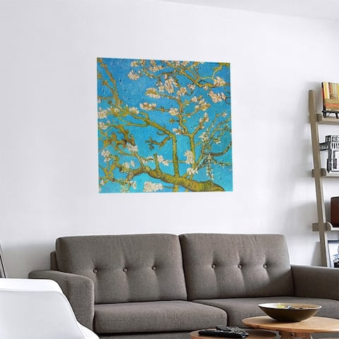 Porch & Den Vincent Van Gogh 'Almond Blossom' Removable Art Decal