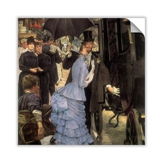 Porch Den James Tissot The Bridesmaid Removable Art Decal Overstock 28231559