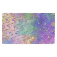 Porch & Den Claxtar Multicolor Planets & Stars Dobby Rug
