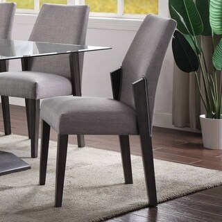 ACME Bernice Side Chair (Set of 2) in Gray Oak