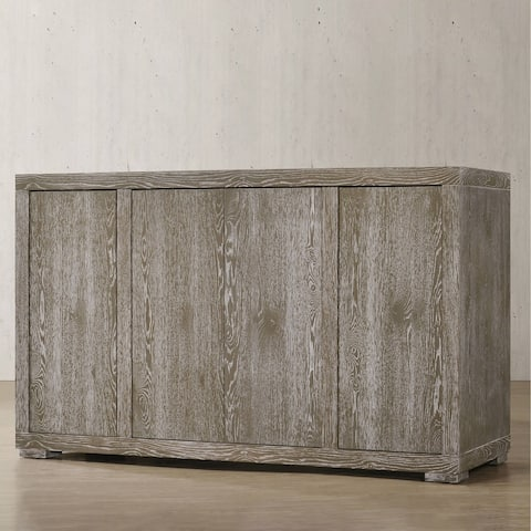 ACME Gabrian Server in Reclaimed Gray