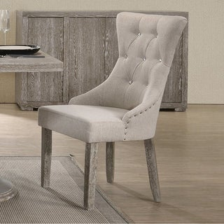 The Gray Barn Mulberry Lodge Reclaimed Grey Dining Chair (Set of 2)