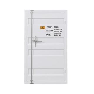 ACME Cargo Chest with 1 Door in White