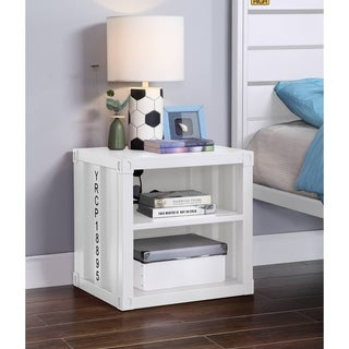 Link to ACME Cargo Nightstand in White Similar Items in Kids' & Toddler Furniture