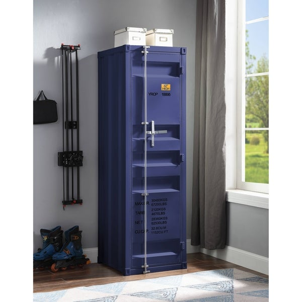 ACME Cargo Wardrobe with 1 Door in Blue