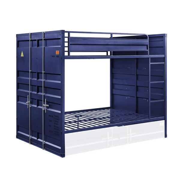 ACME Cargo Full over Full Blue Bunk Bed. Opens flyout.
