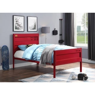 ACME Cargo Twin Bed in Red