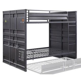 ACME Cargo Full over Full Bunk Bed in Gunmetal