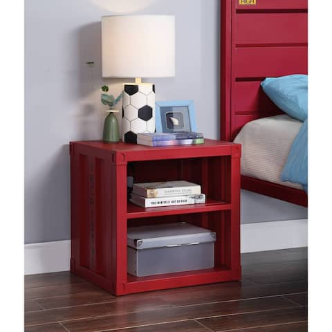 ACME Cargo Nightstand in Red