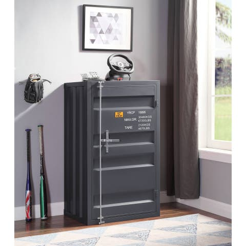 ACME Cargo Chest with 1 Door in Gunmetal