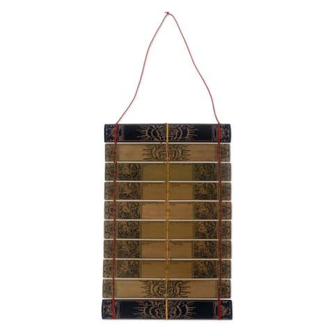 Handmade Balinese calendar The Gods (Indonesia)
