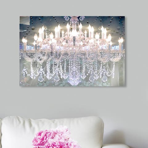 Silver Orchid 'Day and Night' Wall Art Canvas Print