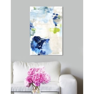 Oliver Gal 'Perks' Abstract Wall Art Canvas Print - Blue, White