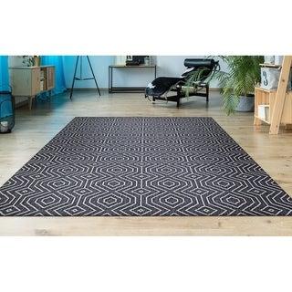 Hampton Bismuth Dark Gray Indoor/Outdoor Area Rug