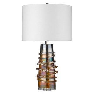 Link to Trend Home 1-Light Polished Nickel Table Lamp Similar Items in Cables & Connectors