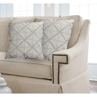 Lauren Taylor- Manchester 2pk Jacquard Cushions