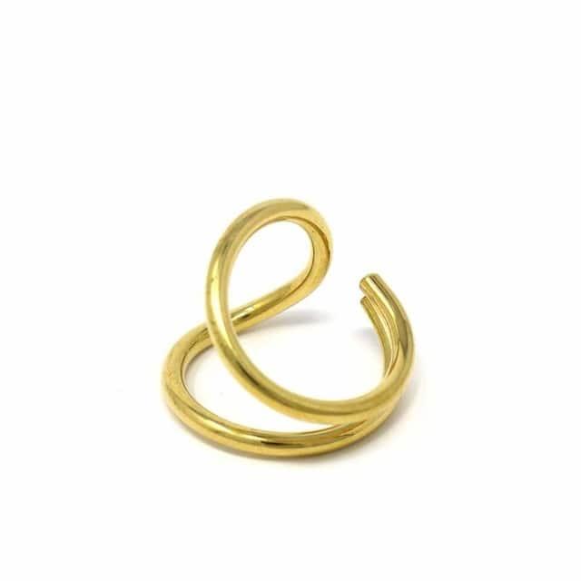 Brass Ribbon Wrap