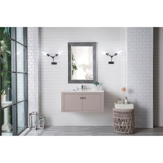 "Silverlake 36"" Single Vanity, Mountain Mist"