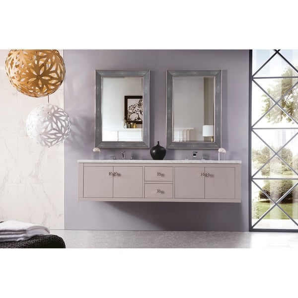 "Silverlake 72"" Double Vanity, Mountain Mist"
