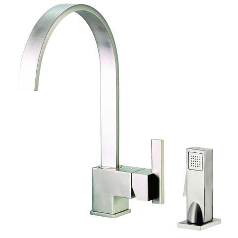 Sirius 1H Kitchen Faucet w/ Spray 1.75gpm Stainless Steel