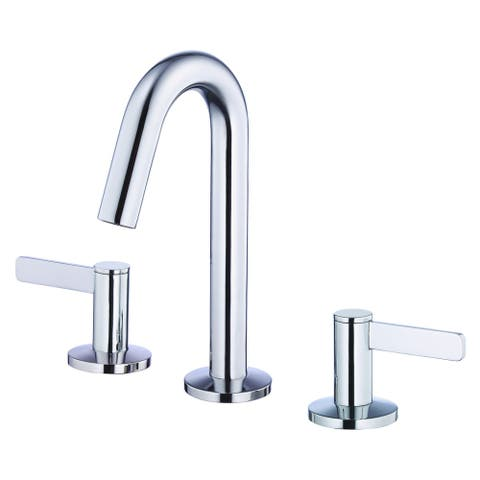 Amalfi Trim Line 2H Mini-Widespread Lavatory Faucet w/ 50/50 Touch Down Drain 1.2gpm Chrome
