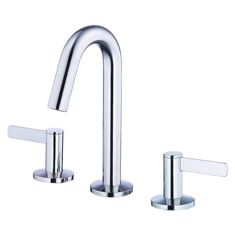 Amalfi Trim Line 2H Mini-Widespread Lavatory Faucet w/ 50/50 Touch Down Drain 1.2gpm Chrome