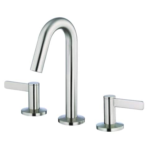Amalfi Trim Line 2H Mini-Widespread Lavatory Faucet w/ 50/50 Touch Down Drain 1.2gpm Brushed Nickel
