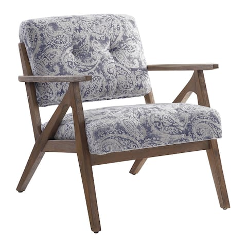 Carson Carrington Giacomina Brown Arm Chair