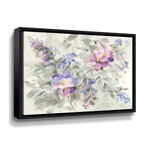 ArtWall Garden Dreams Gallery Wrapped Floater-framed Canvas