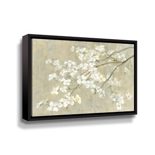 Porch & Den Dogwood in Spring Gallery Wrapped Floater-framed Canvas