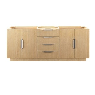 "Bainbridge 72"" Double Vanity, Tribeca Oak"