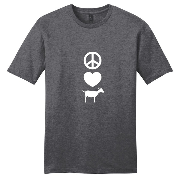 Peace Love Goats T-Shirt - Unisex Fit Animal Shirt