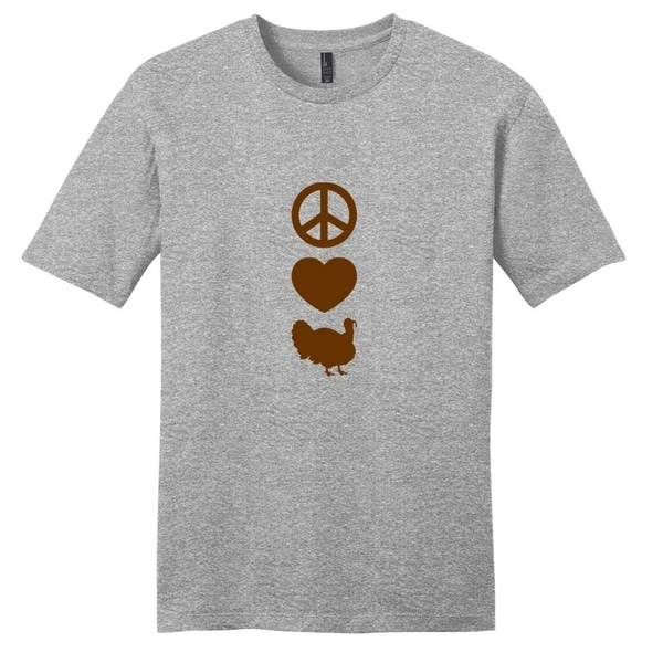 Peace Love Turkeys T-Shirt - Unisex Animal Shirt