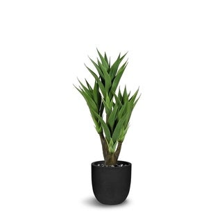 Agave Artificial Multiple Stems Green Faux Botanical - 44 Inch