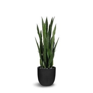 Sanseveria Artificial Green Faux Botanical - 47 Inch