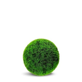 Grass Ball Artificial Faux Botanical - Lime Green - 22 Inch
