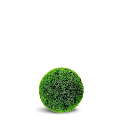 Grass Ball ArtificialFaux Botanical - Lime Green - 20 Inch