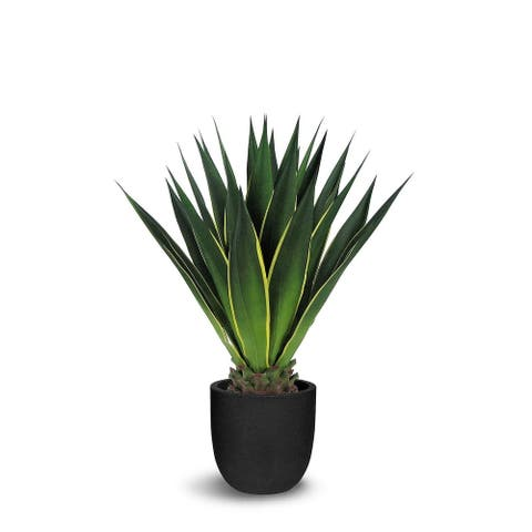 Agave Artificial Green Faux Botanical - 32 Inch
