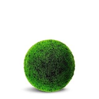 Grass Ball Artificial Faux Botanical - Lime Green - 24 Inch