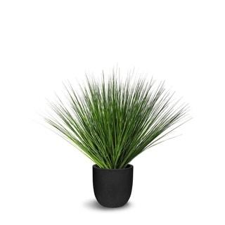 Onion Grass Artificial Faux Botanical - Green - 34 Inch