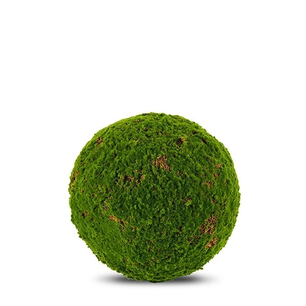 Moss Ball Artificial Faux Botanical - Green - 22 Inch