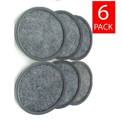 Premium Replacement Charcoal Water Filter Disks for Mr. Coffee Machines [6 Pack]