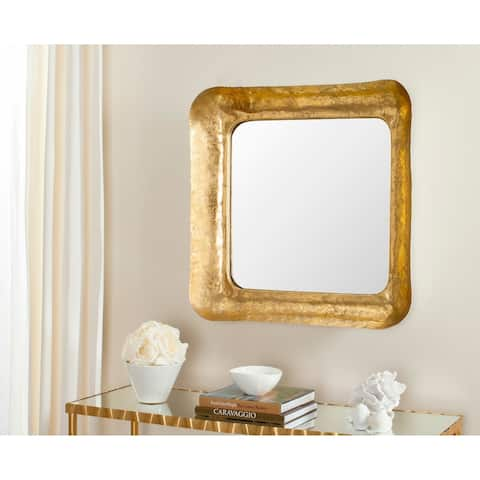 "Safavieh Geri Gold 31-inch Decorative Mirror - 31"" x 31"" x 3.5"""