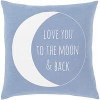 Moon Novelty Pillow Cover
