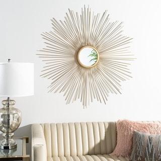 Safavieh 41 -inch Arlo Sunburst Mirror - Gold