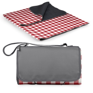 Link to Blanket Tote XL Outdoor Picnic Blanket, (Red Check with Gray) Similar Items in Picnic