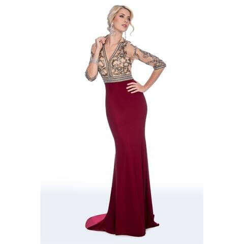 Stella Couture Women's Formal Long Dress