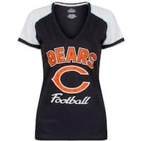 Chicago Bears Touchdown T - Size M Plus Size - Navy - MEDIUM PLUS SIZE